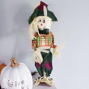 Fall decor standing scarecrow